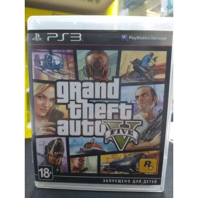 Grand Theft Auto V (PS3, БУ)