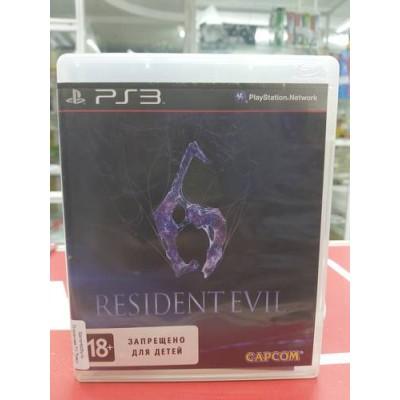 RESIDENT EVIL 6 (PS3, БУ)